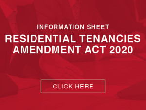 Property Management Residential Tenancies Amendment Act 2020