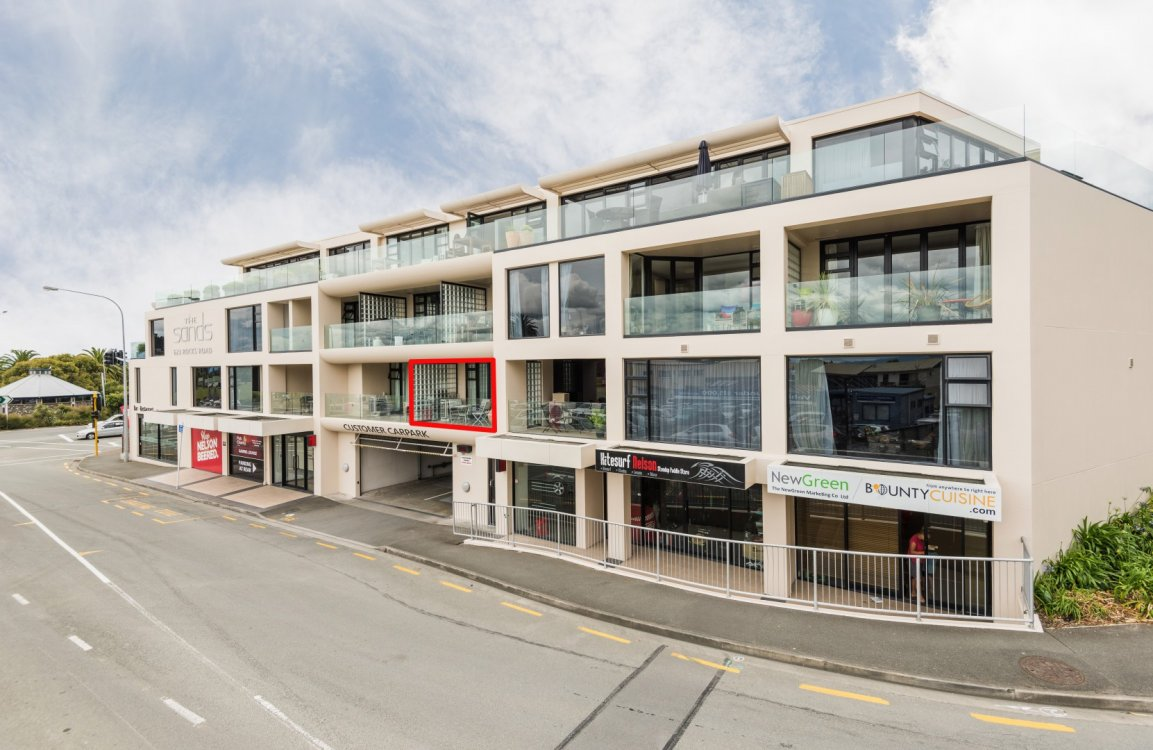 Unit 104, The Sands Apartments, Tahunanui #2